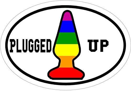WickedGoodz Pink Moist Vinyl Decal Perfect Joke or Gag Gift Funny Bumper Sticker
