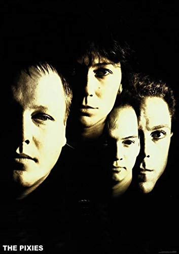 Art-I-Ficial The Pixies Band Indie Rock Album Band Music Poster 24x36 inch