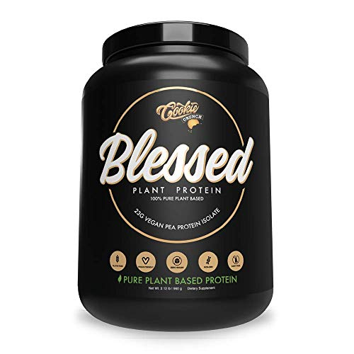 BLESSED Plant Based Protein Powder – 23 Grams, All Natural Vegan Protein, 2 Pounds, 30 Servings (Vanilla Chai) 6