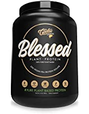 BLESSED Plant Based Protein Powder – 23 Grams, All Natural Vegan Friendly Pea Protein Powder, Gluten Free, Dairy Free & Soy Free, 30 Serves (Cookie Crunch)