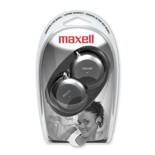 Clip Headphone Stereo Maxell Ear (MAX190561 - Maxell EC-150 Stereo Earphone)