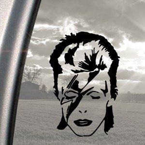David Bowie Black Decal Ziggy Stardust Truck Window Sticker - Window stickers amazon uk