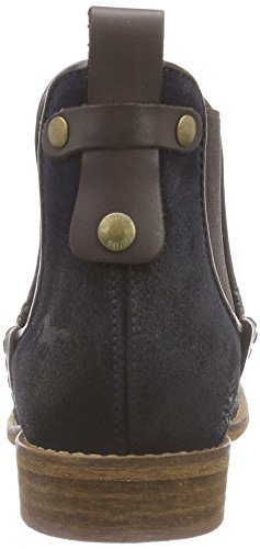 Mustang Chelsea Boot - botines chelsea de cuero mujer azul - Blau (800 dunkelblau)