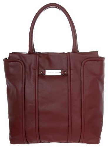 Versace Jeans Damen Shopper Tote bag Bordeaux E1VGBB92