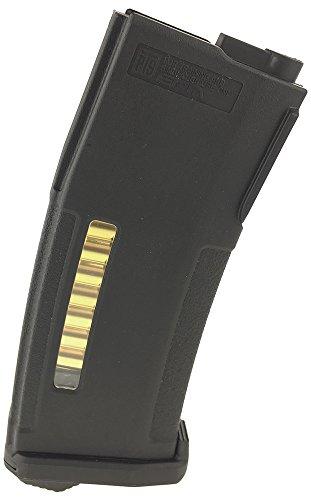 SportPro 150 Round PTS EPM Polymer Medium Capacity Magazine for AEG M4 M16 Airsoft - Black