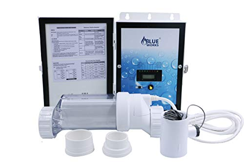 (BLH40 Salt Chlorine Generator Salt System Chlorinator for 40,000 gallons Compatible with Hayward Aqua Rite)