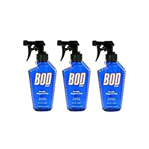 Bod Man Really Ripped Abs Fragrance Body Spray, 8 Ounce. Pack of 3.