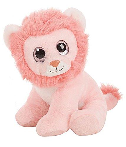 Fieras - Peluche León rosa 30cm ojos brillantes - Calidad super soft: Amazon.es: Juguetes y juegos