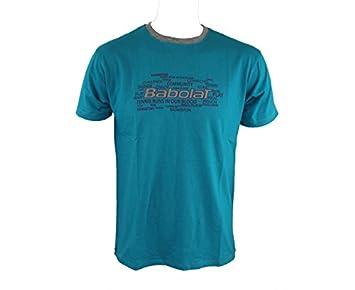 BABOLAT Core Camiseta de Caballero, Azul, L: Amazon.es: Deportes y aire libre