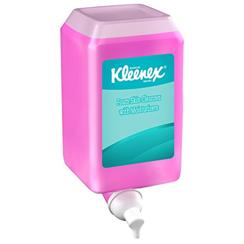 kleenex-liquid-hand-soap-with-moisturizers-91552-pink-floral-scent-10l-6-bottles-case