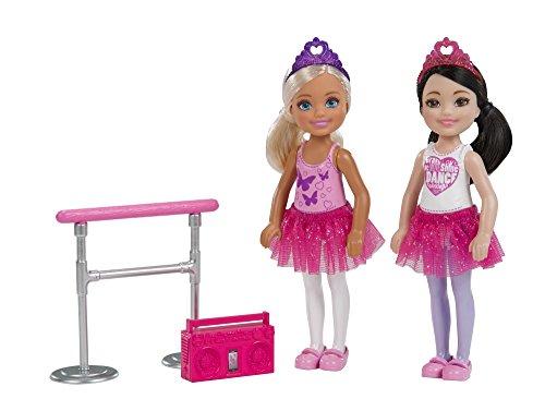Barbie Club Chelsea Ballet Doll, 2 Pack (Barbie Radio)