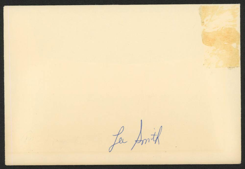 LEE SMITH SIGNED ENVELOPE BROOKLYN DODGERS CHICAGO CUBS RED SOX YANKEES ORIOLES+