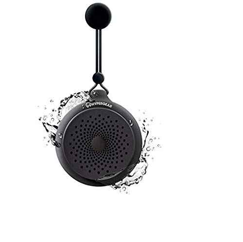HyperGear Splash Waterproof//Resistant Wireless Shower Speaker HD Stereo Built-in Mic for Hands-Free Calls//Playlist for All Wireless Bluetooth Devices Teal