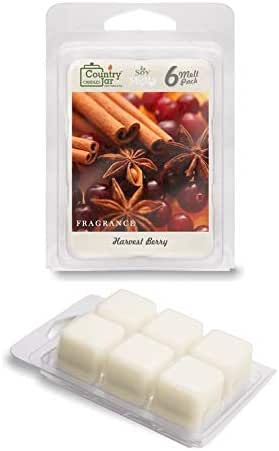 Country Jar Harvest Berry Soy Wax Melts/Tarts (2.75 oz. 6-Cube Pack) Pick 3 Sale! 3 or More (Mix or Match)