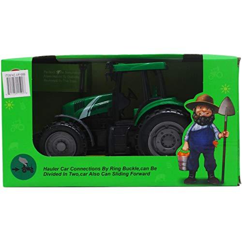 "Arcady 9.5"" F/F Farm Tractor Play Set in Open Box, Case of 18 from DDI"