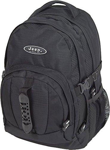 Jeep Classic Black Backpack