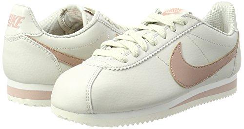 Classic Beige Bone Nike lt Sneaker summit Donna particle Cortez Pink White nSqFqA