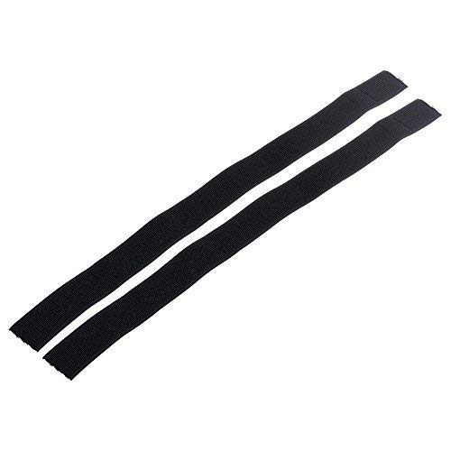 BCP 2pcs Multi-Purpose Hook and Loop Fastener Elastic Riding Cycling Bike Safety Leg Bind Trousers Pants Keeper Leg Band Strap