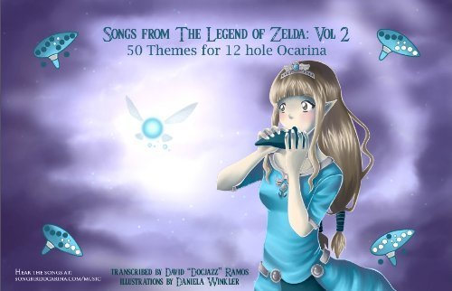 Songs From the Legend of Zelda for 12 Hole Ocarina: Volume II Songbird Ocarina Son-8950