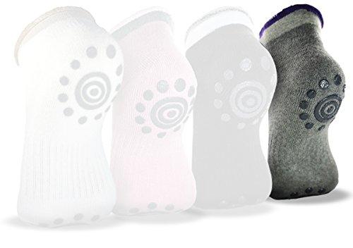 Best Non -Slip Skid Yoga Pilates Socks with Grips Cotton for Women