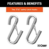 CURT 80151 44-1/2-Inch Vinyl-Coated Trailer Safety