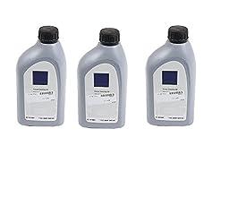 Set of 3 Power Steering Fluid Genuine Q1460001