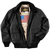 Product review for Landing Leathers Men's Navy G-1 Leather Flight Bomber Jacket