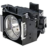 GOLDENRIVER DT01291 Projector Lamp Original Bulb with Housing for Hitachi CP-WX8255 CP-WX8255A CP-X8160 CP-WU8450