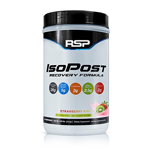 RSP IsoPost Post Workout Protein Powder, Whey