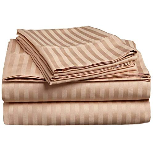 Collection 400 Thread - JB Linen Hotel's Collection 400 Thread Count 100% Egyptian Cotton Super Soft 4-Piece Sheet Set Queen (60