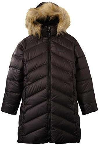 Marmot Girls Montreaux Coat, True Black, ()