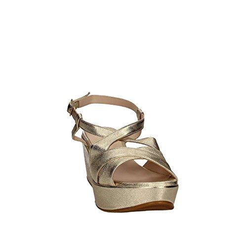 Grace Shoes SA21 Sandalias Altos Mujeres Gris 37