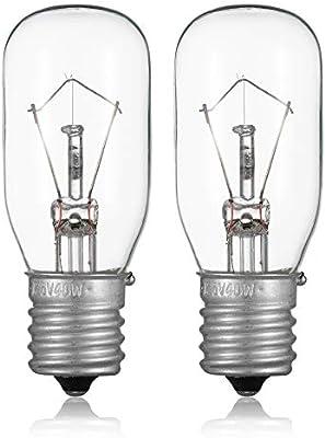 Bombilla para horno microondas 6912W1Z004B - 125 V 40 W bombillas ...