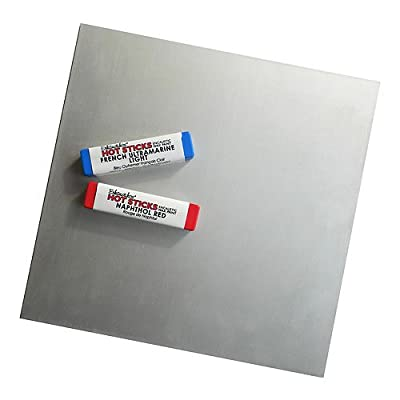 "Enkaustikos Anodized Aluminum Plate - 10""x14"""