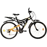 Hercules MTB Turbodrive Dynamite 26T 6 Speed Mountain Bike (Black)