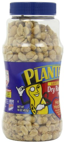 029000076501 - Planters Dry Roasted Peanuts Lightly Salted 16 oz (Pack of 12) carousel main 8