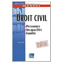 Droit civil. : Personnes, Incapacité, Famille, Edition 2000-2001