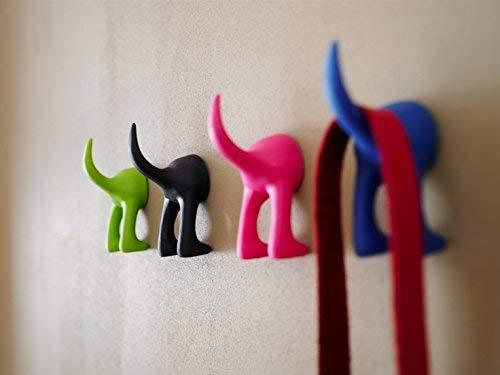 Amazon.com: IKEA Juego de 6 Perro Tail perchero ganchos ...