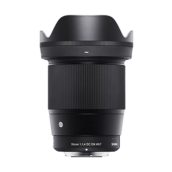 RetinaPix Sigma 16mm f/1.4 DC DN Contemporary Lens for Sony E Mount Mirrorless Cameras(APS-C Format)