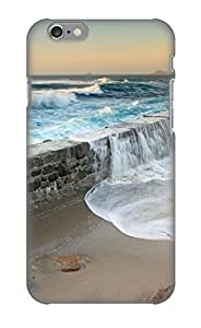 Case For Iphone 6 Tpu Phone Case Cover(sea Dike) For Thanksgiving Day's Gift