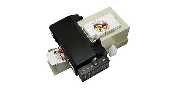 Syoon - Impresora de CD y DVD automática (51 Piezas, Bandeja para ...