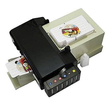 Syoon - Impresora de CD y DVD automática (51 Piezas, Bandeja ...