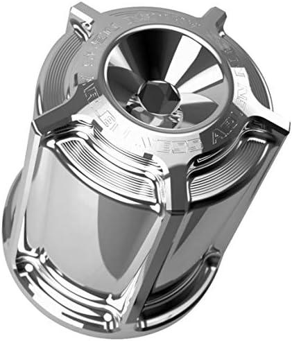 Arlen Ness 03-462 クロム 再利用可能 オイルフィルター