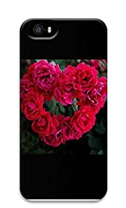 Case For Iphone 6 Plus 5.5 Inch Cover Form A Heart shaped Love Roses 3D Custom Case For Iphone 6 Plus 5.5 Inch Cover