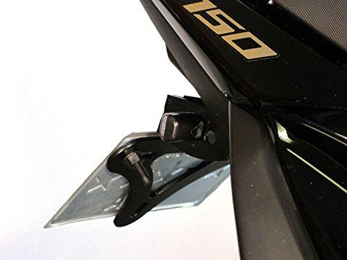 Moto Micro Frecce Led per Cafe Racer Project 2 Paia Nero