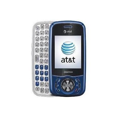 Pantech Matrix C740 Unlocked GSM Phone with Dual-Sliding Keypad, Full QWERTY Keyboard, 1.3MP Camera, Bluetooth and microSD Slot - Blue/Black