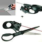 Jiansy Professional Stainless Steel Positioning Tailor Infrared Scissors Household Necessities Tailor Patchwork Hand Sewing Tool