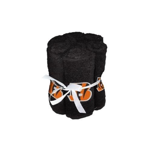 NFL Cincinnati Bengals 6 Pack Washcloth Set by The Northwest Company