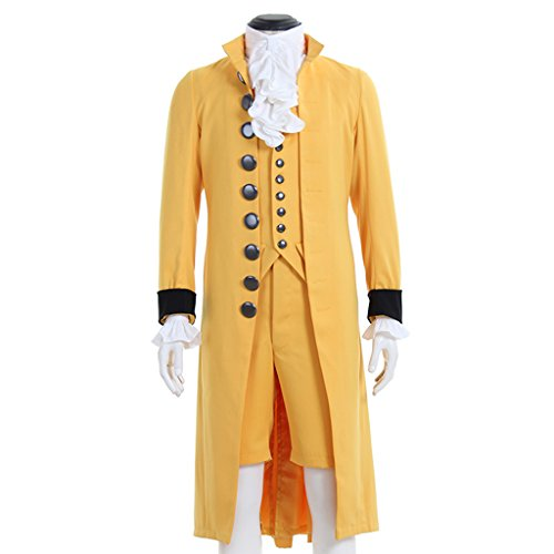 tury Men's Victorian Fancy Outfit Regency Tailcoat Vest Costume XL (Ladies Satin Tailcoat)
