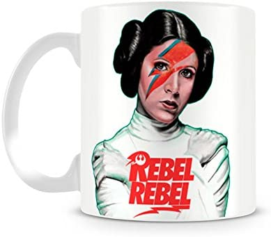 Caneca Star Wars Leia Rebel Rebel